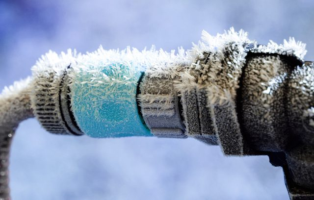frozen pipe claim