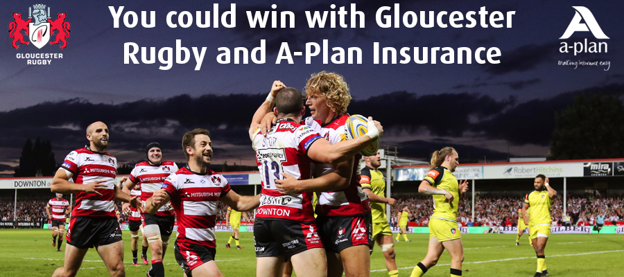Win with Gloucester Rugby and A-Plan Insurance