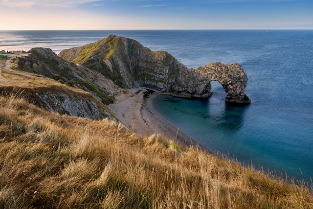 Social Distancing Walk - durdle door